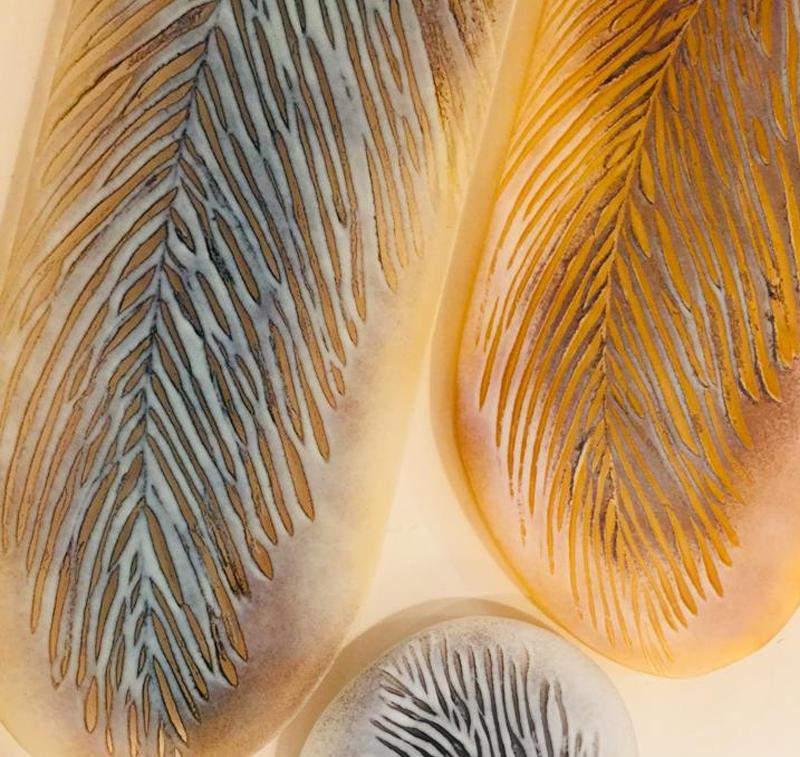 Sarah Sillibourne Fused Glass Platters